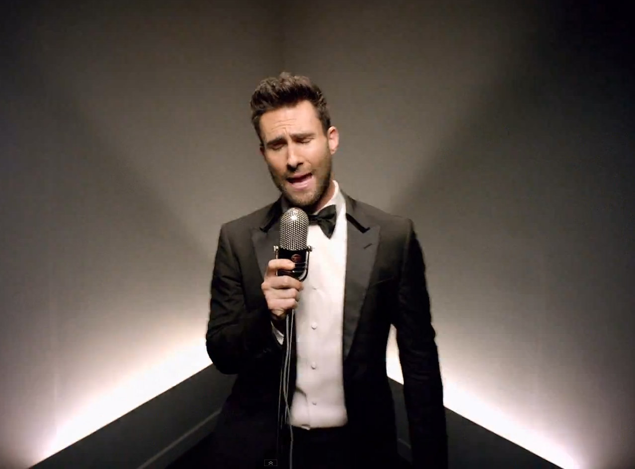 Model Rambut Adam Levine